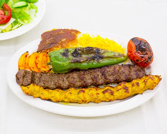 Chicken and Beef Koobideh Combo